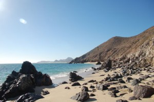 Rocky Coast at Baja Mexico